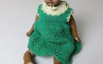 Bisque Head Mulatto Doll