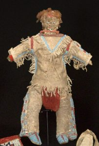 Southern Plains beaded doll
