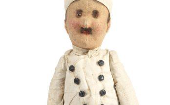 Felt character chef doll